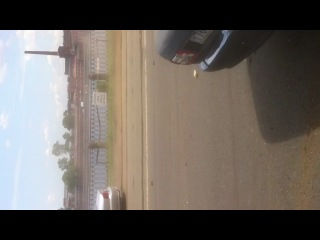 Результат гонок с ГАИ, пр. Обуховской обороны, 09.06.12... Оказалась невольным свидетелем, хорошо ни чем не зацепило...